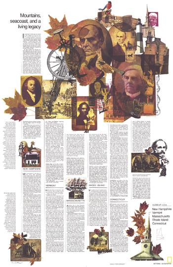 Close-up USA, Western New England Theme - Published 1975