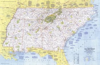 Close-up USA, the Southeast - Published 1975