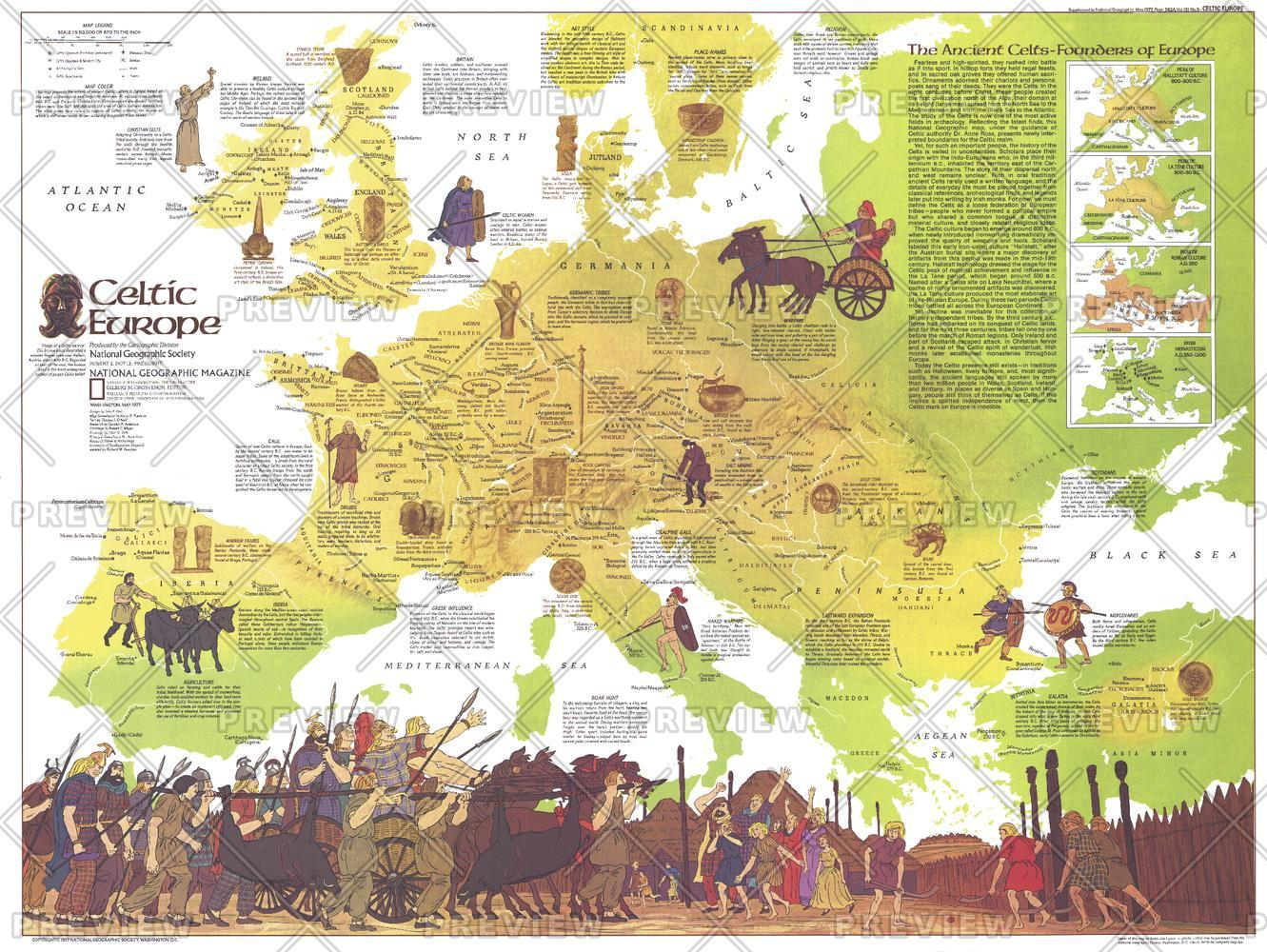 Celtic Europe  -  Published 1977