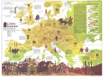 Celtic Europe  -  Published 1977