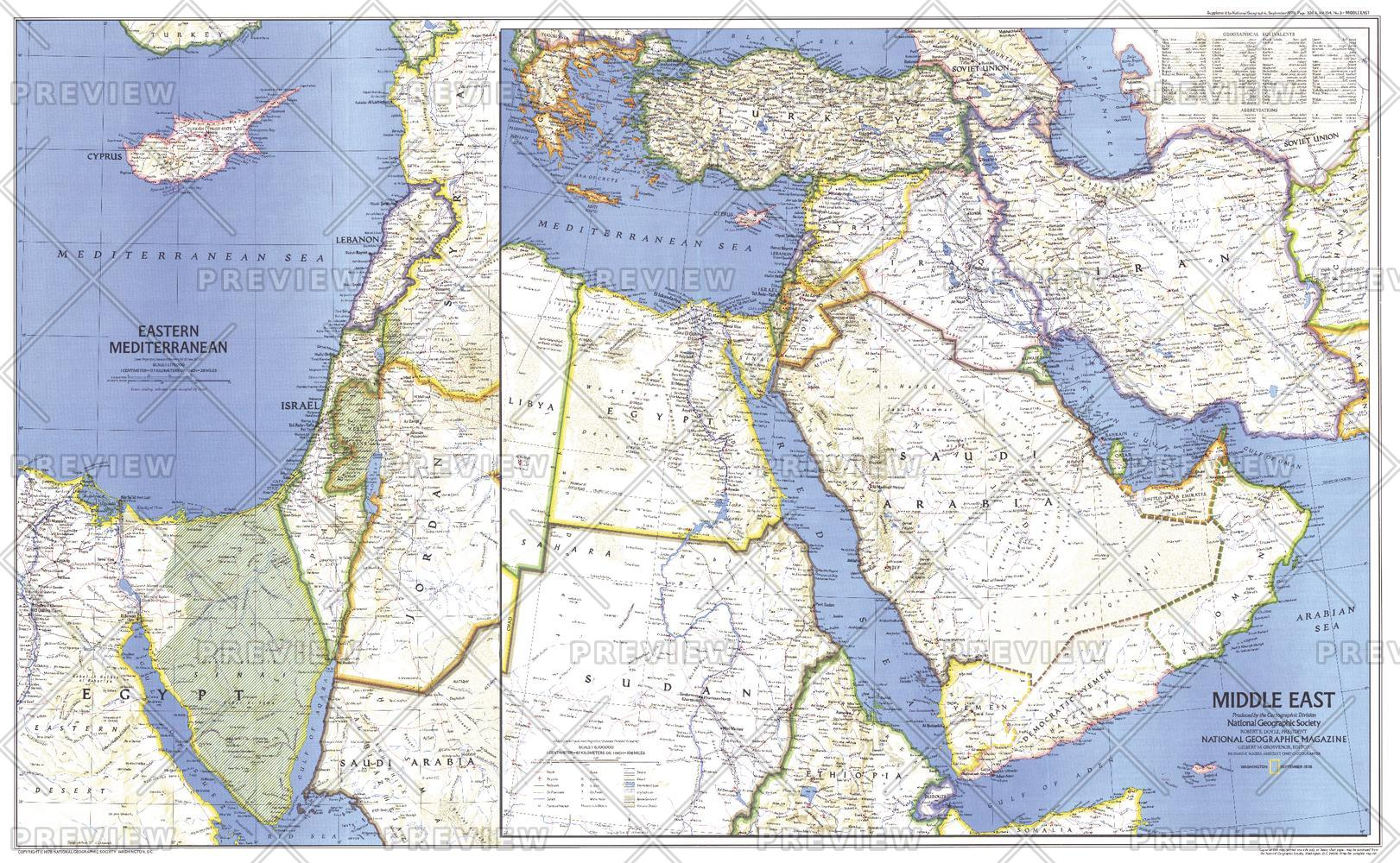 Middle East  -  Published 1978