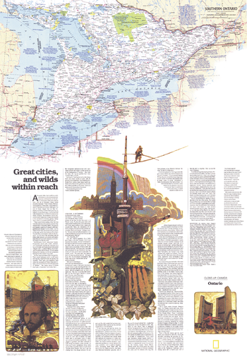 Ontario Great Cities Wilds Within Reach  -  Published 1978