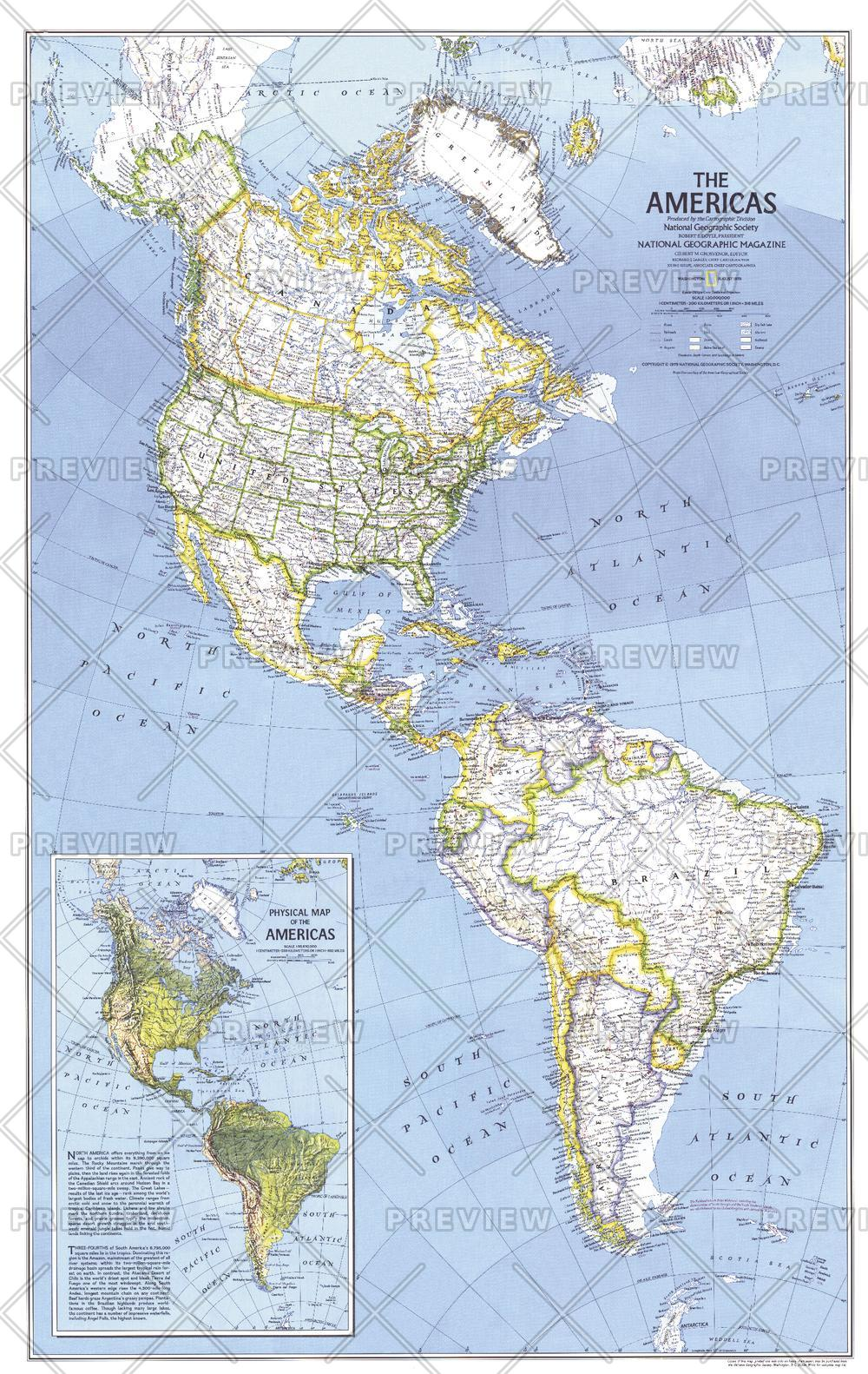 The Americas  -  Published 1979