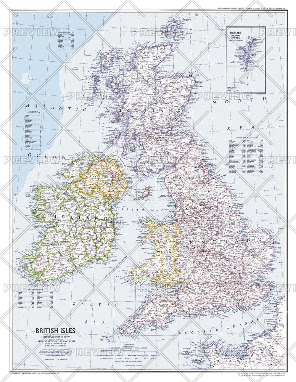 British Isles  -  Published 1979