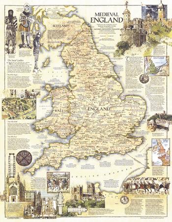 Medieval England  -  Published 1979