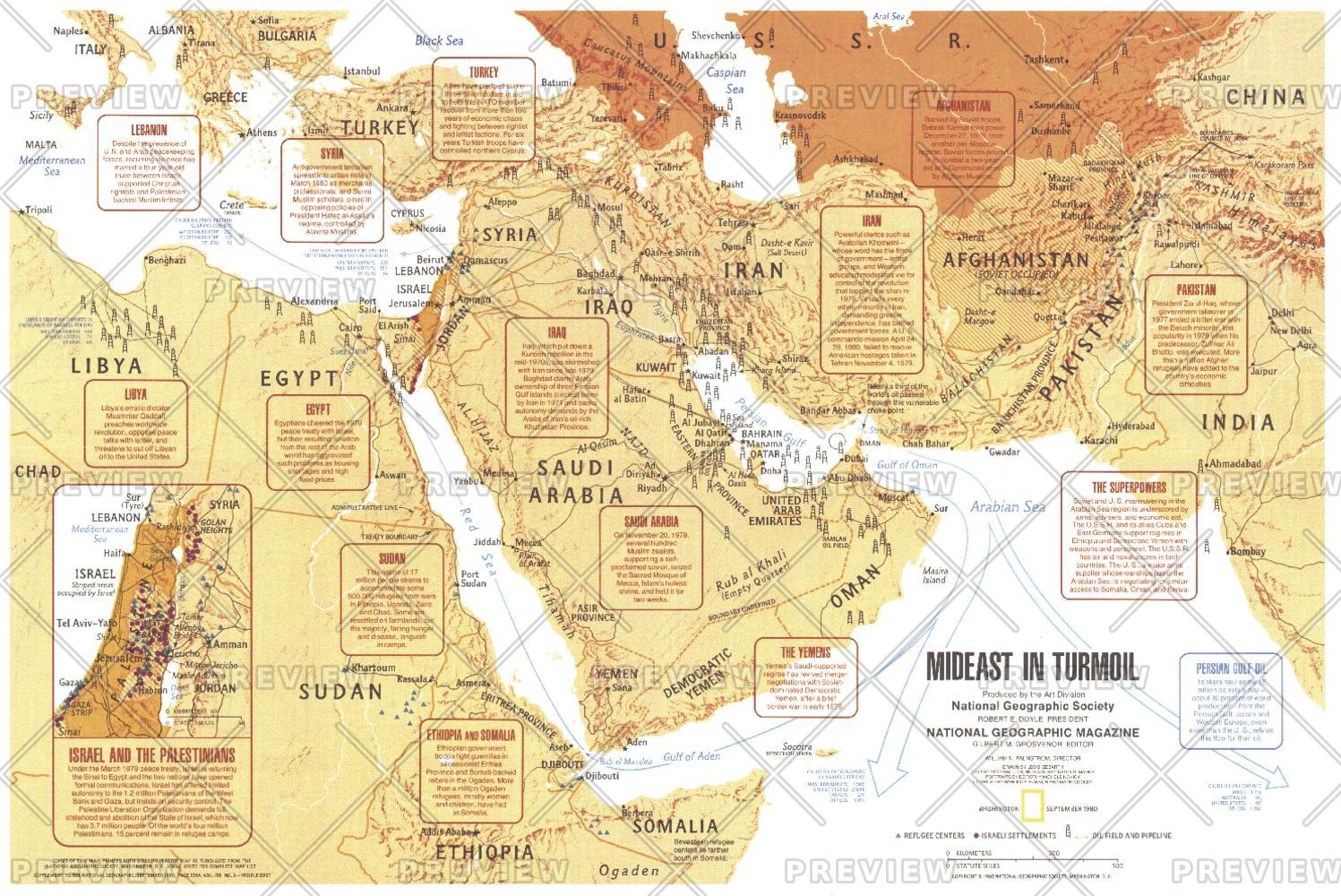 Mideast in Turmoil  -  Published 1980