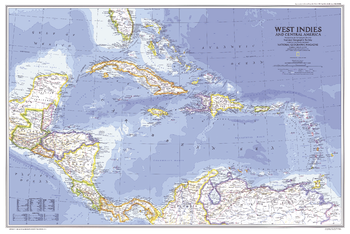 West Indies and Central America  -  Published 1981