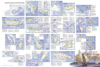 Tourist Islands of the West Indies  -  Published 1981