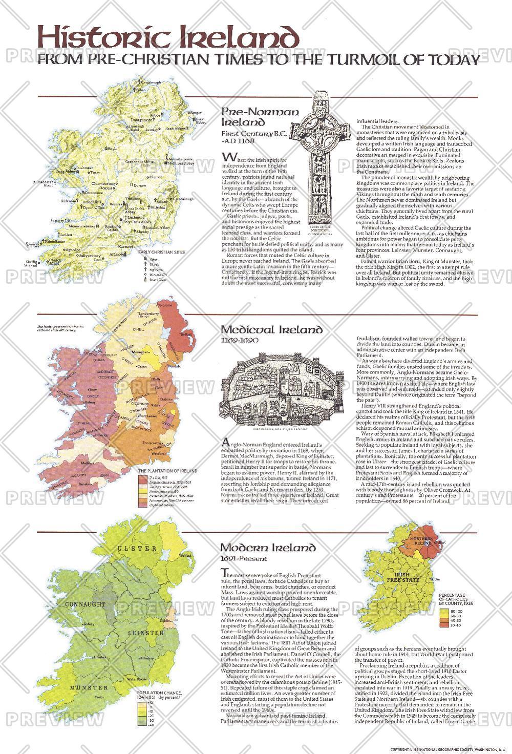 Historic Ireland Theme - Published 1981