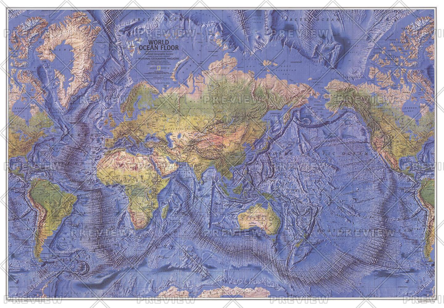 World Ocean Floor  -  Published 1981