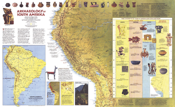MapSherpa Historic Maps - Archaeological sites in the southwest us map