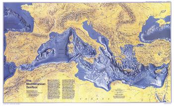 Mediterranean Seafloor  -  Published 1982