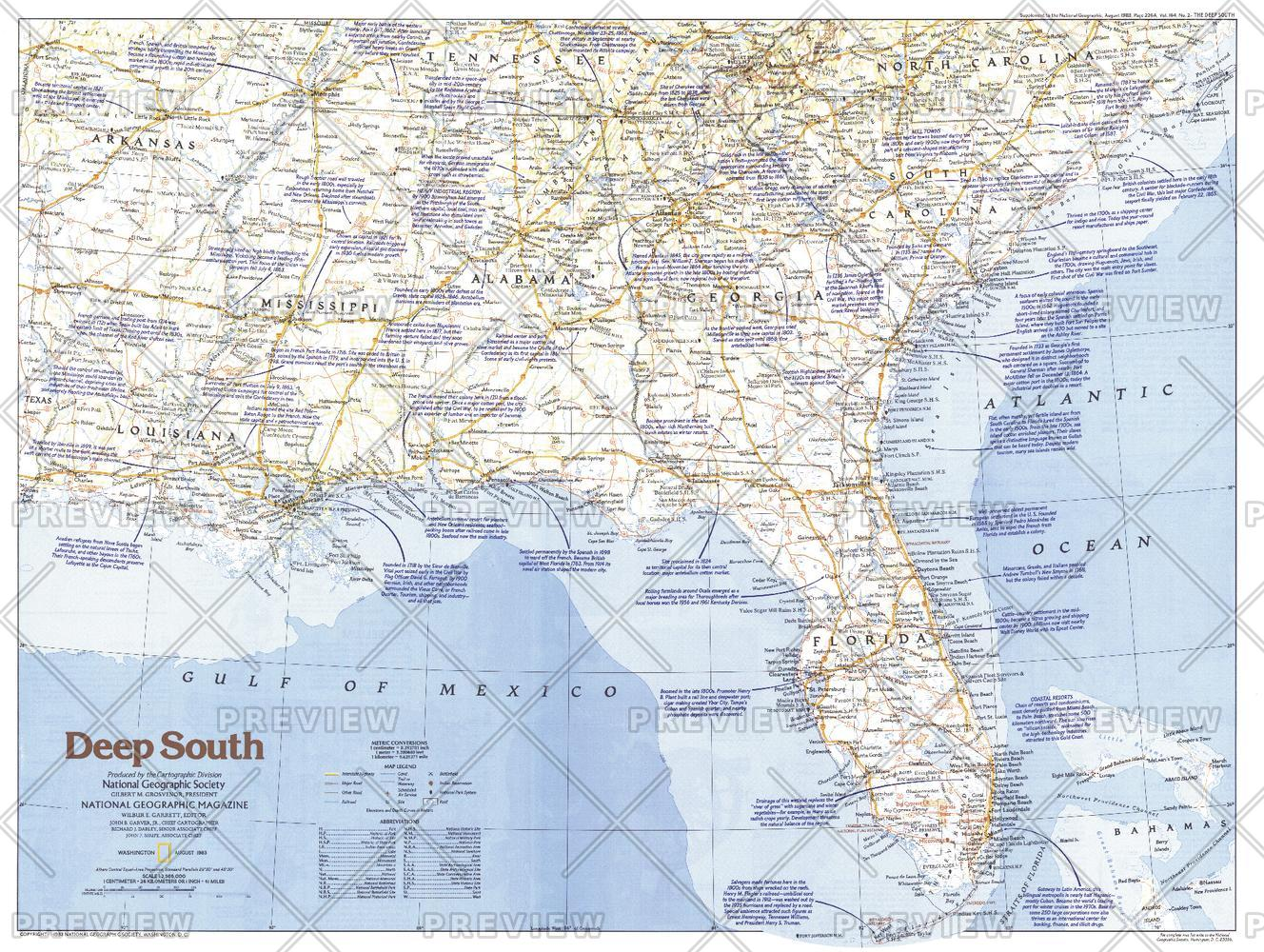 Deep South  -  Published 1983