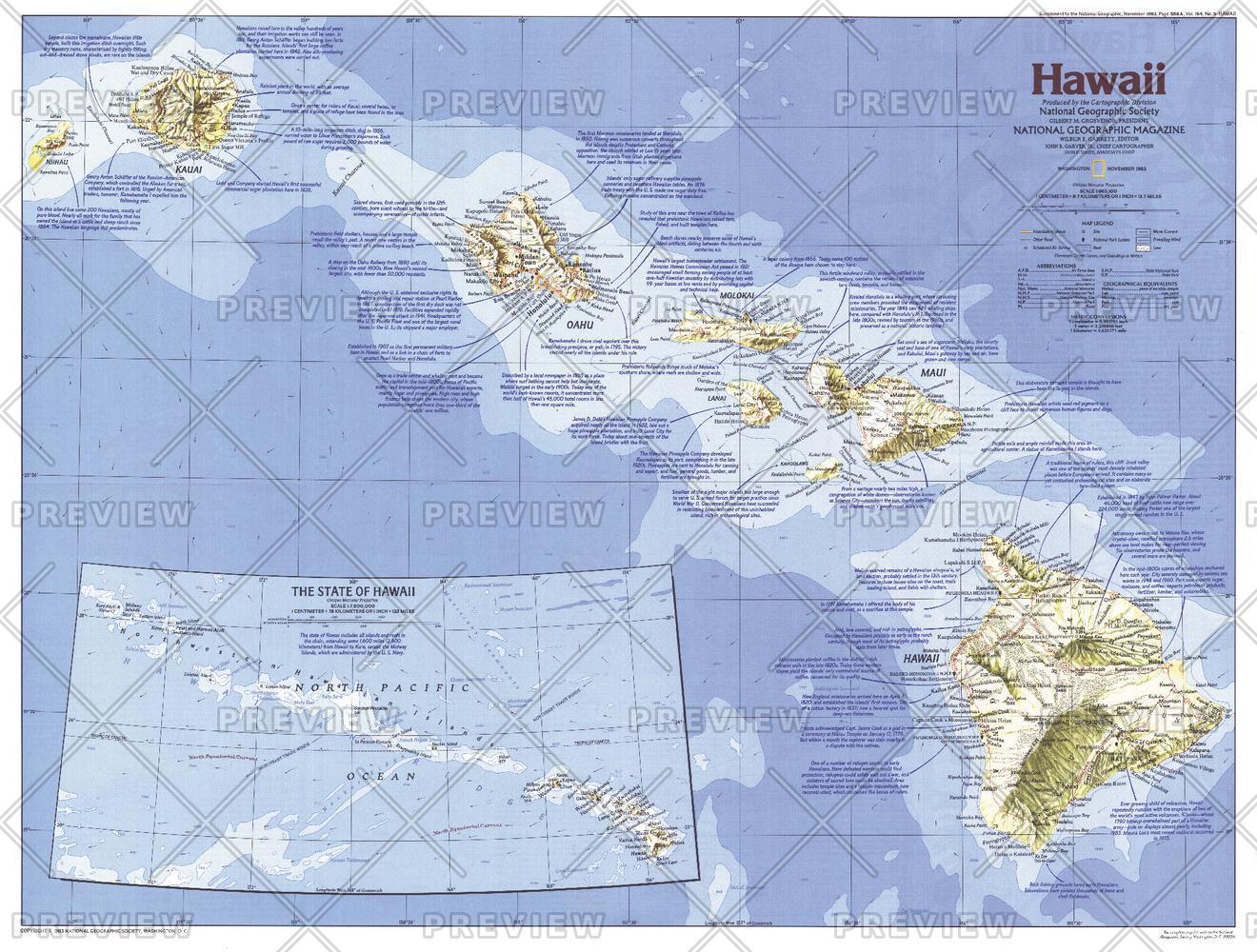 Hawaii  -  Published 1983