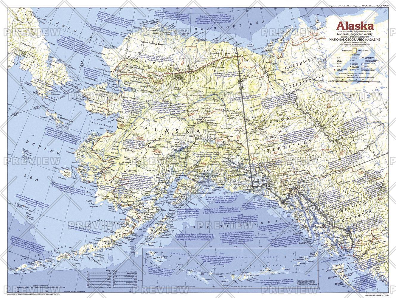Alaska  -  Published 1984
