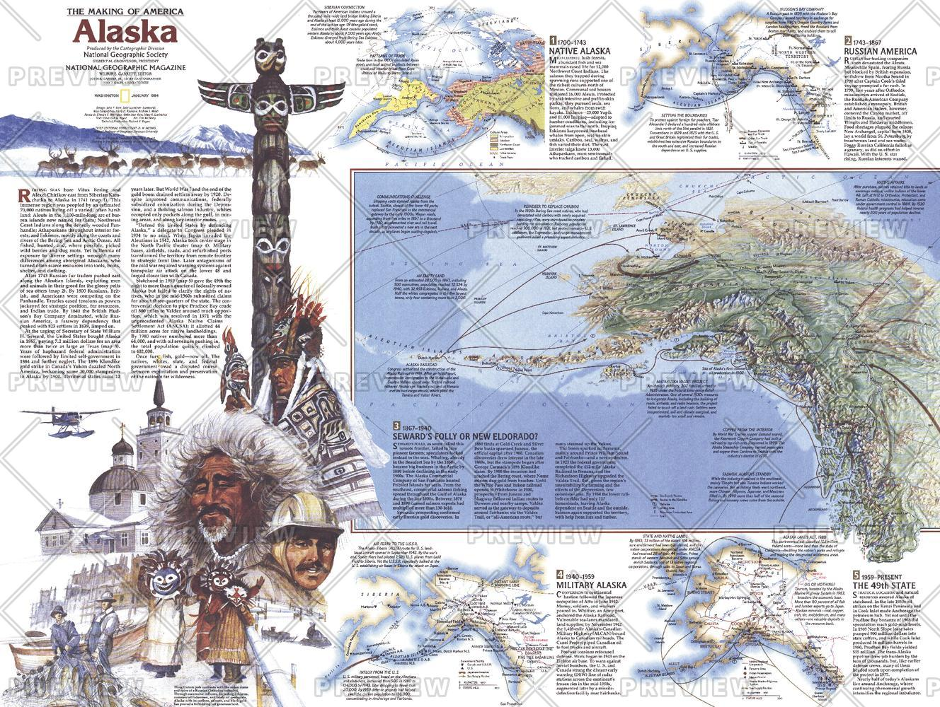 The Making of America, Alaska Theme - Published 1984