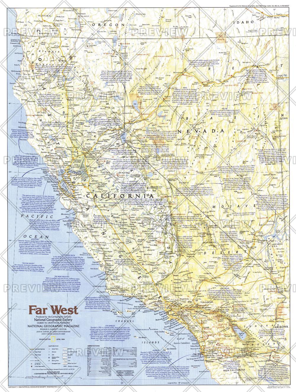 Making of America, Far West  -  Published 1984