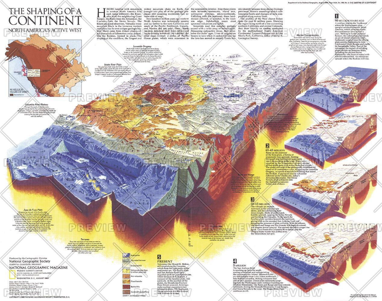 The Shaping of a Continent - Published 1985