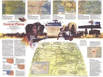 Central Plains Map Side 2 - Published 1985