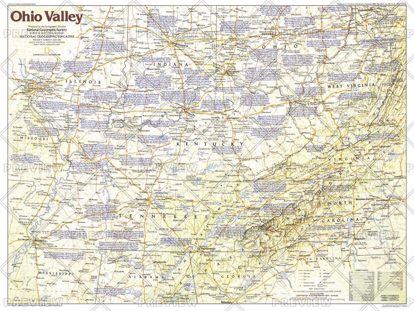 Ohio Valley  -  Published 1985