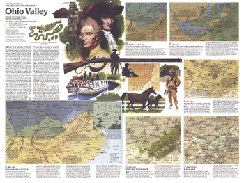 The Making of America, Ohio Valley Theme - Published 1985