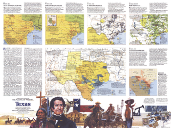 The Making of America, Texas Theme - Published 1986