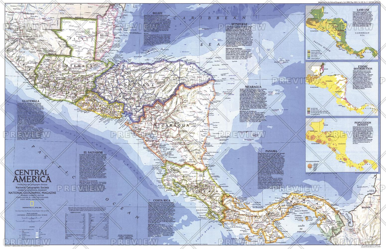 Central America  -  Published 1986