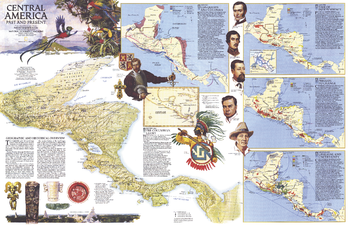 Central America Past and Present  -  Published 1986