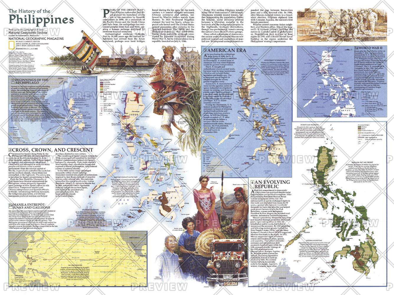 History of the Philippines  -  Published 1986