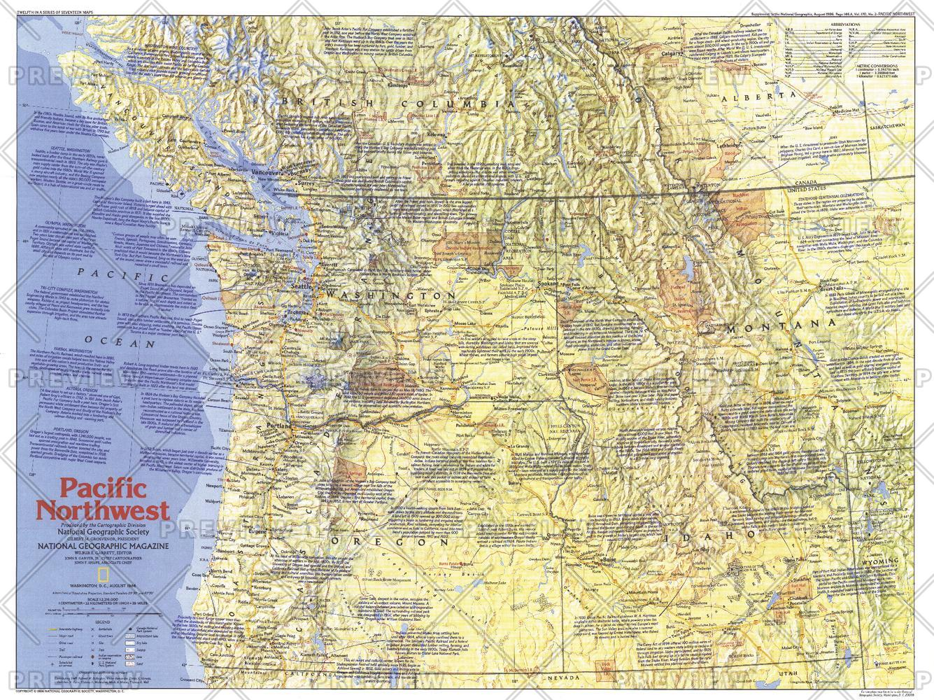 Pacific Northwest   Side 1 - Published 1986
