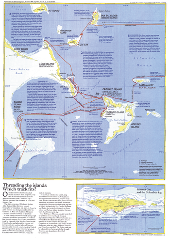 Threading the Islands  -  Published 1986