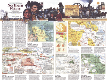 Northern Plains Map Side 2 - Published 1986