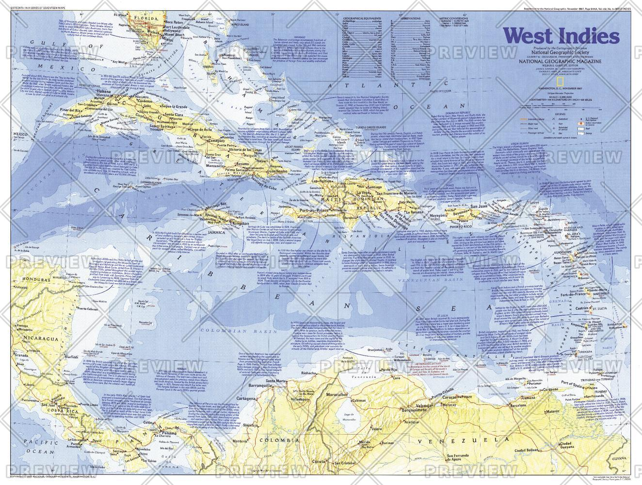 Making of America, West Indies  -  Published 1987