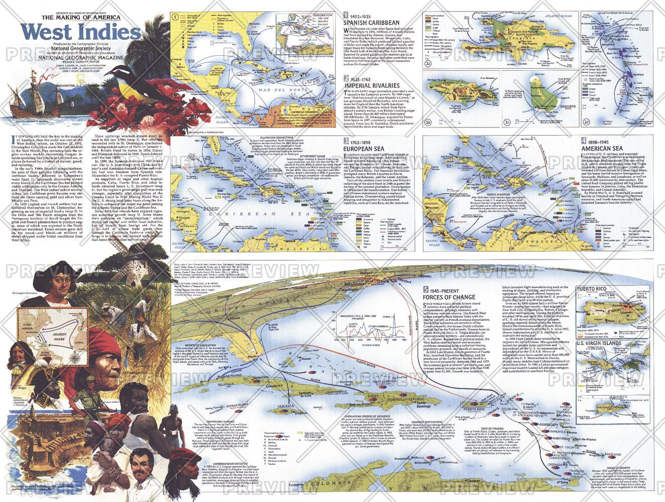 Making of America, West Indies Theme - Published 1987