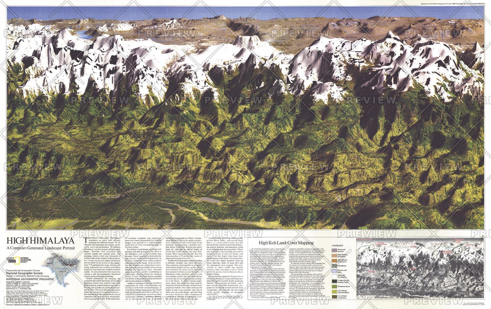 High Himalaya  -  Published 1988