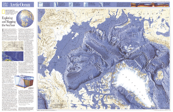 World Ocean Floors, Arctic Ocean  -  Published 1990