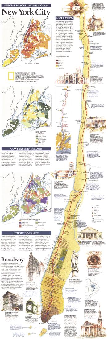 New York City  -  Published 1990