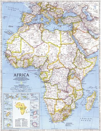 Africa  -  Published 1990