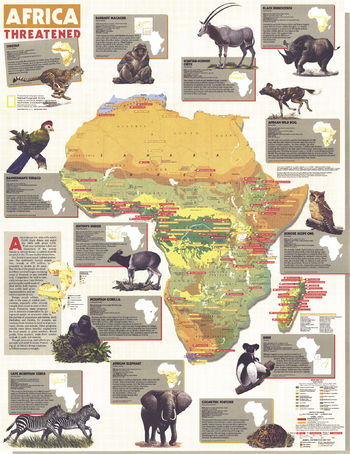 Africa Threatened  -  Published 1990