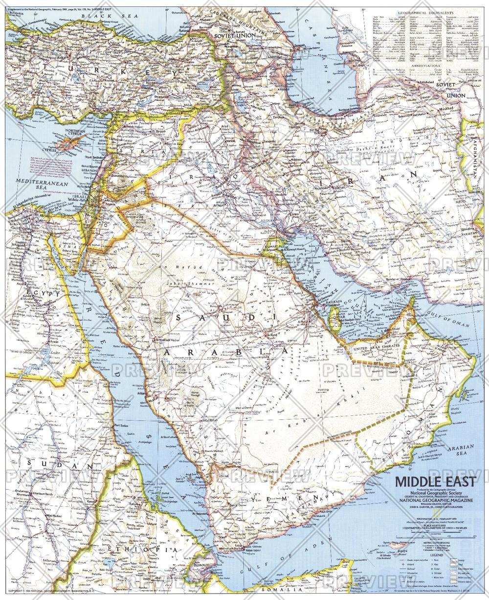 Middle East  -  Published 1991