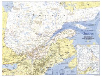 Quebec  -  Published 1991