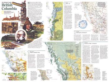 Making of Canada, British Columbia Theme - Published 1992