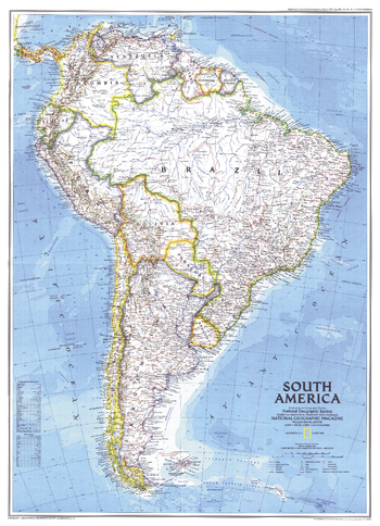 South America  -  Published 1992