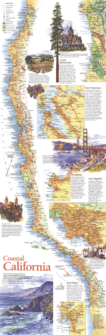 Coastal California  -  Published 1993
