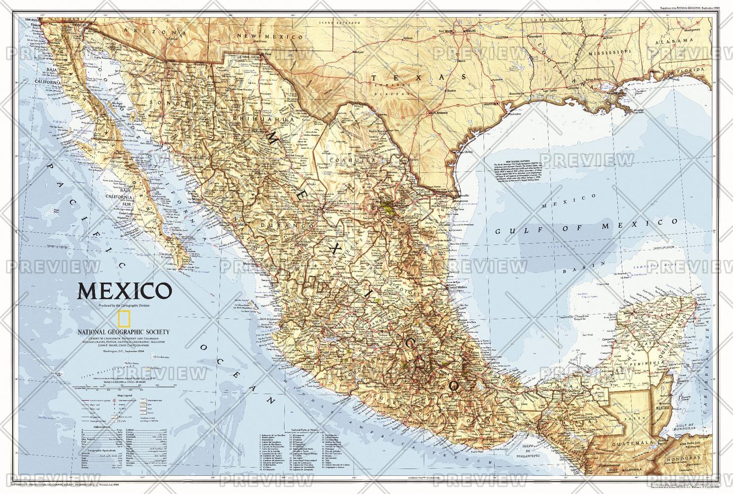Mexico  -  Published 1994