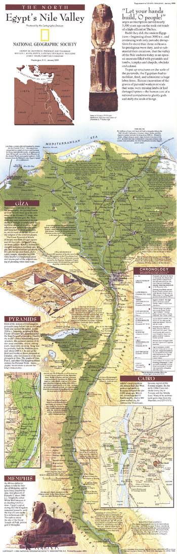 Egypts Nile Valley North  -  Published 1995