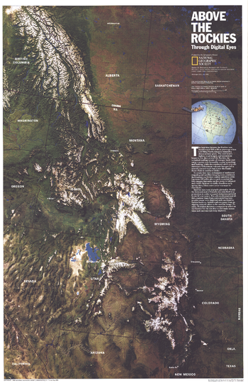 Above the Rockies  -  Published 1995