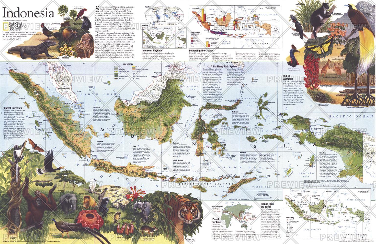 Indonesia Theme  -  Published 1996