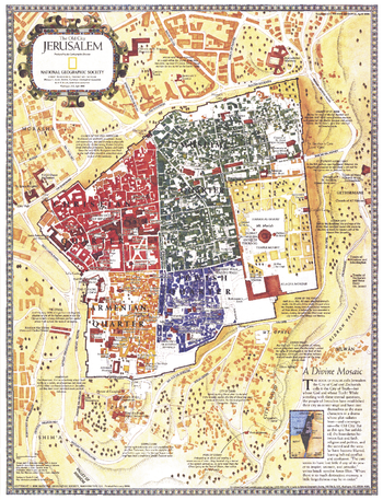 Jerusalem, the Old City  -  Published 1996