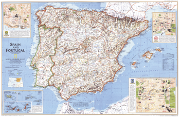 Spain and Portugal - Published 1998